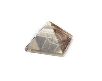 "Smoky Quartz Crystal Pyramid .75"""