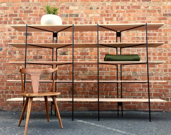 FREE SHIPPING - Iron Modernist Shelving