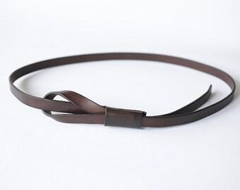 Women's Handmade Leather Belt