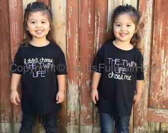 Twin Life - 2 shirt set