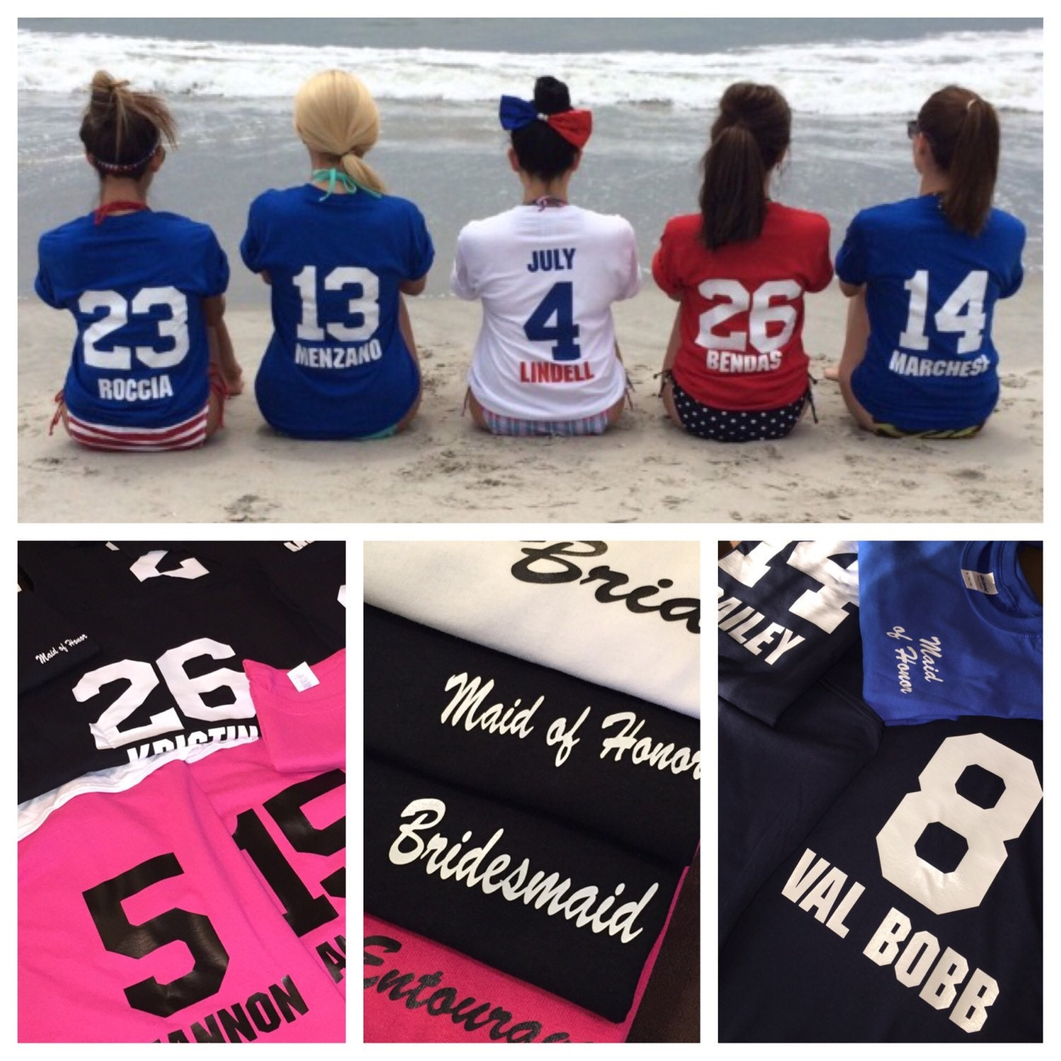 Wedding Bridesmaids Shirts bridesmaids shirts years known the bride sports style