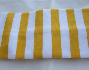 Headband with stripes, Girls Hair Accessories, Hair Tie, Hair Band, Cotton Headband, Fabric Headband, Yellow Stripe Headband,