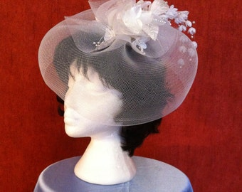 gorgeous bridal fascinator, bridal hats and veils,hair accessories,bridal headband ,exquisite bridal fascinator,