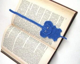 Free crochet pattern, Bookmark elephant crochet pattern