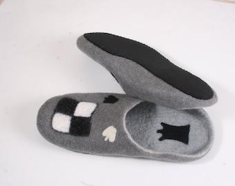 woolen slippers for men