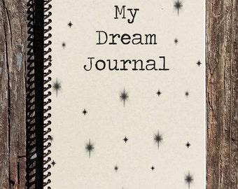 Dream Journal - Bedside Dream Journal - Dream Notebook - Dream Book - Journal - Notebook