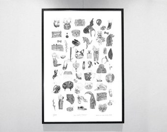 All those Things - Artwork in Limited Edition!  70 x 100 cm, signed and numbered.