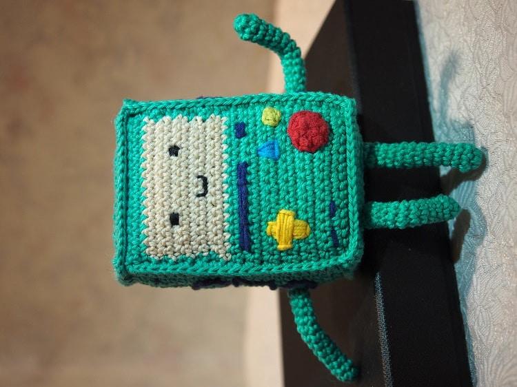 Amigurumi Beemo : BMO Beemo Adventure Time Amigurumi