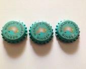 Australian 'World's Finest Ginger' Soda Bottle Cap Brooch Pin