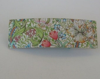 Decoupage hair barrette