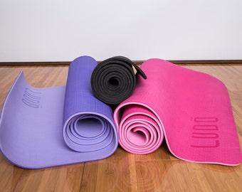 Ludo yoga mat | eco-friendly, extra long, extra thick