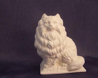 Ready to Paint Ceramic Bisque Cat