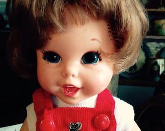Vintage 1960's Mattel Baby First Step Doll