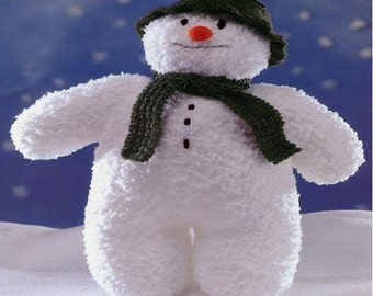 PDF Vintage The Snowman Knitting Pattern – Snowman, Vintage, Christmas Time - PDF instant download