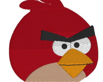Angry Bird Embroidery Download
