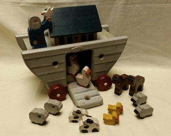 Noah's Ark with animals