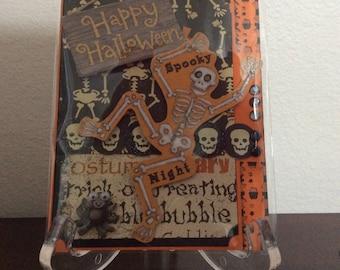 Handmade card Halloween