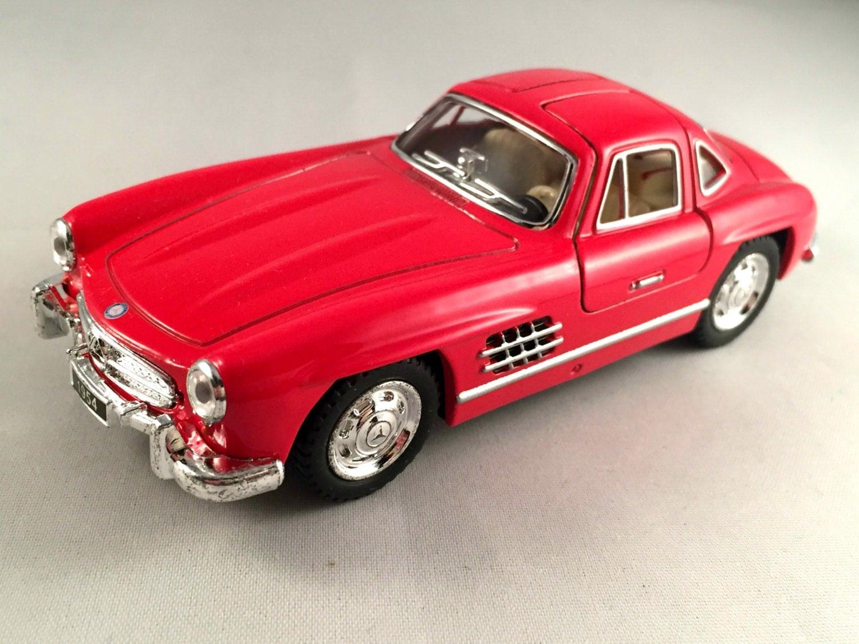 Mercedes benz 300 sl 1954 metal toy car model lovely for Toy car mercedes benz