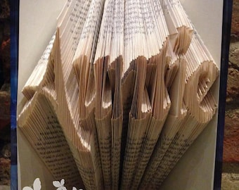 Auntie Book Sculpture