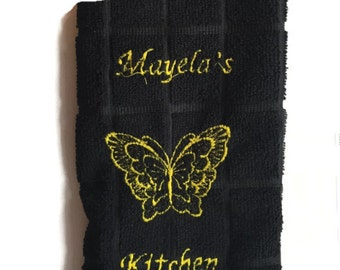 Personalized Dish Towel **FREE SHIPPING**