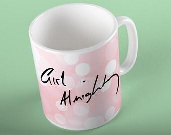 Coffee Mug Girl Almighty Mug - Louis' Handwriting - One Direction