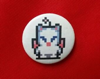"Final Fantasy 8-BIT Moogle 1"" Pin"