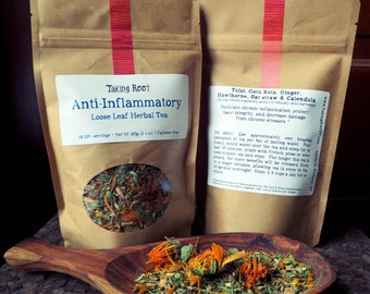 Anti Inflammatory loose leaf herbal tea