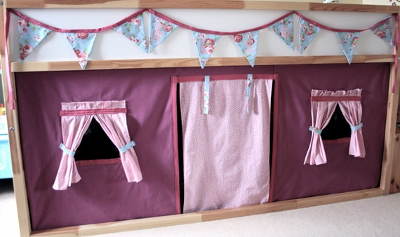Items Similar To Gorgeous Girls Under Bed Play Tent On Etsy