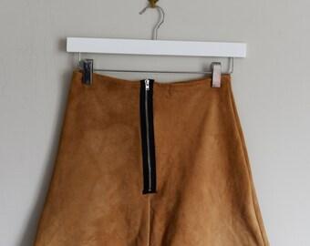 Bespoke Suede Skirt