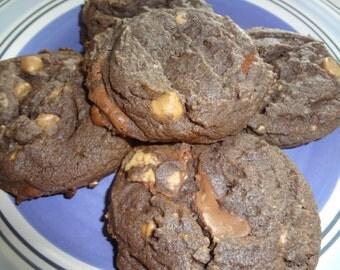 Homemade Chocolaty Peanut Butter Cup Cookies (4 Dozen)