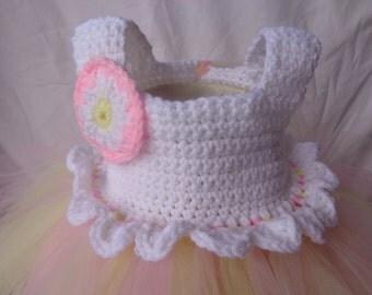 Crochet Easter Tulle dress