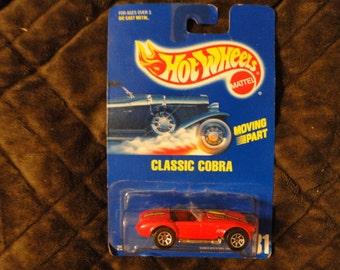 Vinatge 1991 Mattel Hot Wheels Classic Cobra Car