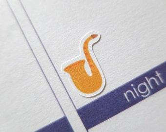 60 music Stickers  | Erin Condren Stickers | Plum Paper Planner Stickers | Scrapbook | Erin Condren Life Planner | Life Planner | 0366