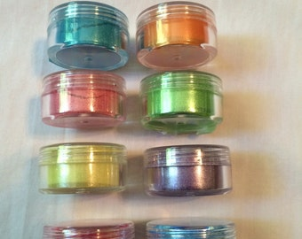 Mica Powder for Soap Colorant or Cosmetics Spring Sample Pack