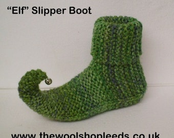 Knitting Pattern For Elf Slippers : Elf slippers Etsy