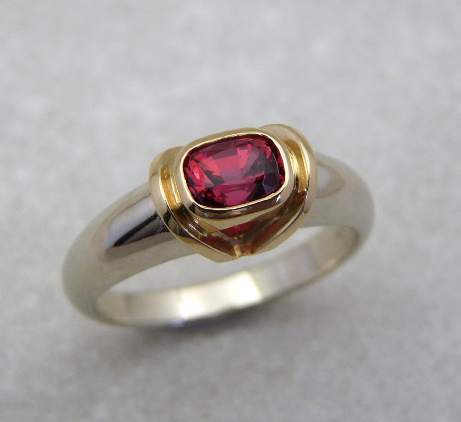 spinel gold rings ring gold spinel ring