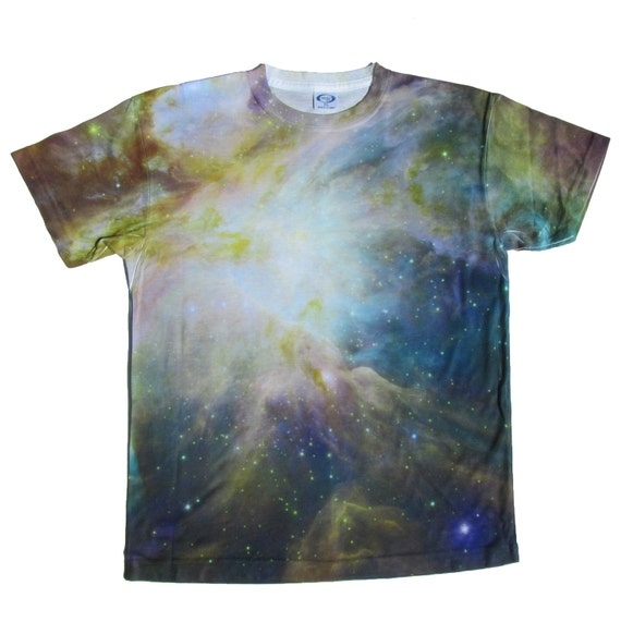 Outer space children 39 s toddler teen t shirt galaxy for Outer space clothing