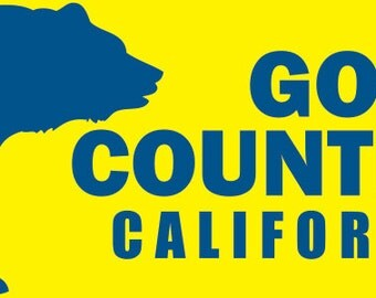 Gold Country California stickers