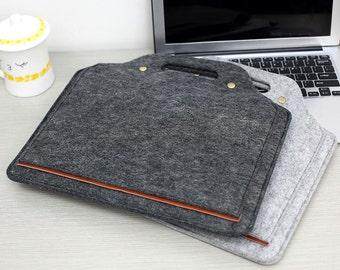 """Hanger Felt 13 Macbook Sleeve , 2016 13"""" Macbook Pro , 13 Macbook Air Sleeve, 13 Macbook Pro , 13 Macbook Case ,  13 Macbook Air ,  #202"""