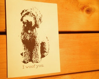 Goldendoodle Card / Labradoodle Card / Puppy Card