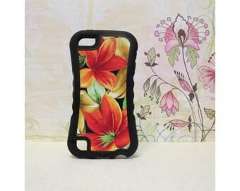 Lily Bouquet - Rubber iPod Touch 5 (5th gen) Case