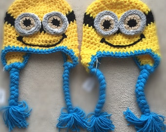 Minion Beanie with earflaps