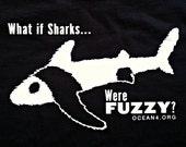 SALE XL Fuzzy Shark Shirt