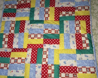 Baby Bear Baby Quilt, or play mat