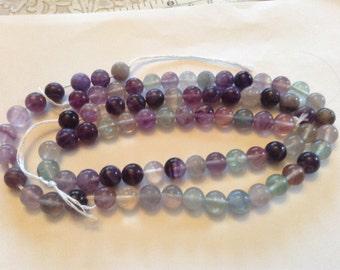 8mm fluorite beads