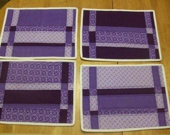 Purple Placemat Set