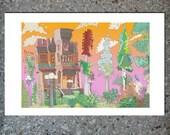 "Parish House - Color print, 6 x 4"" with 1"" border"