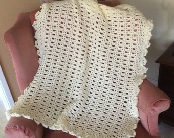 Lacey Baby Afghan.