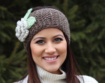 Womens Ear Warmer, Womens Headband, Womens Crochet Headband, Crochet, Accessory, Winter Accessory, Fall Accessory, Crochet Headband,