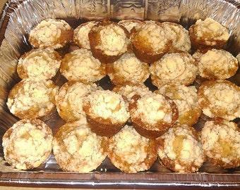 "Shodelicious' ""Famous"" Banana Bread - 24 Mini Muffins"